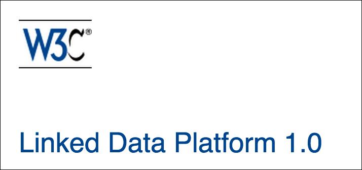 W3C Linked Data Platform